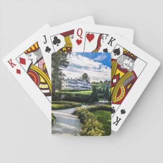 Edith Wharton Mansion Playing Cards