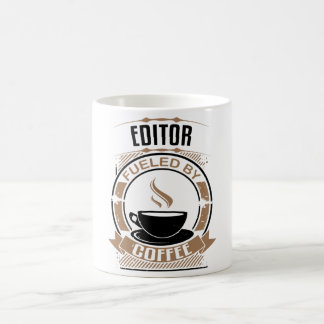 Editor Fueled By Coffee Coffee Mug