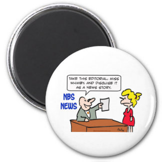 editorial disguise news story 2 inch round magnet