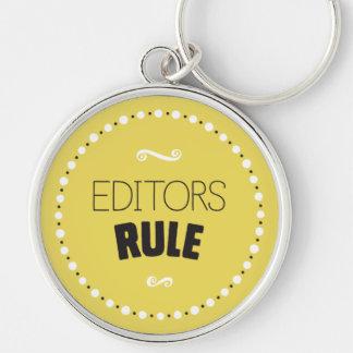 Editors Rule Keychain – Editable Background