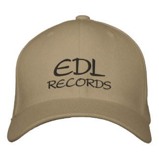 EDL , RECORDS BASEBALL CAP