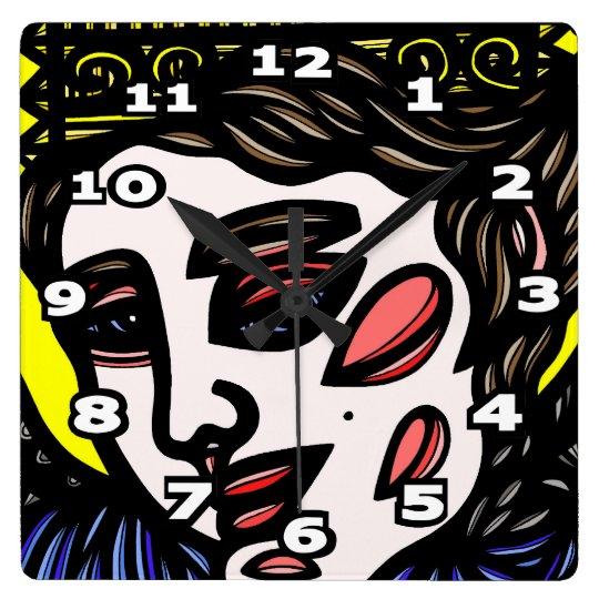 """Edler"" 631 Art Square Wall Clock"