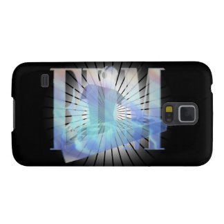 EDM ELECTRIC BLUE GALAXY S5 COVER