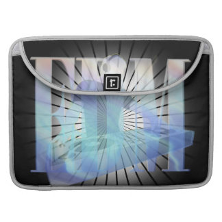 EDM ELECTRIC BLUE SEAMLESS DESIGN SLEEVE FOR MacBooks
