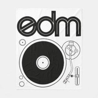 EDM Retro Turntable Blanket