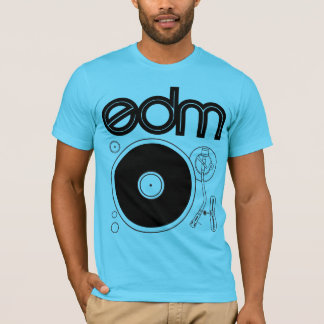 EDM Retro Turntable Shirt