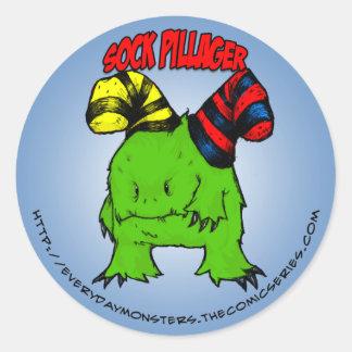 EDM Sock Pillager Sticker