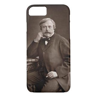 Edmond de Goncourt (1822-96) from 'Galerie Contemp iPhone 7 Case