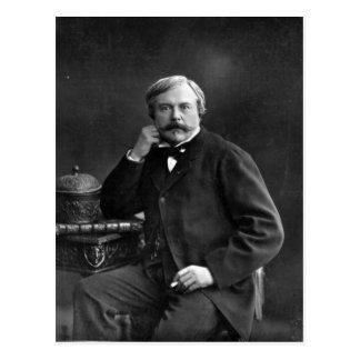 Edmond de Goncourt Postcard