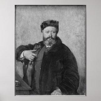 Edmond Felix Valentin About Poster