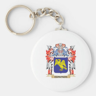 Edmonds Coat of Arms - Family Crest Basic Round Button Keychain