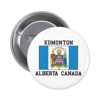 Edmonton Alberta 2 Inch Round Button