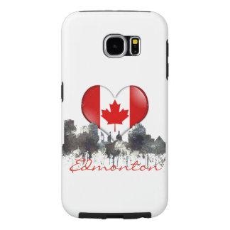 EDMONTON, ALBERTA, CANADA SKYLINE - SAMSUNG GALAXY S6 CASES