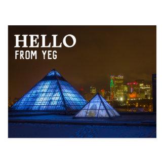 Edmonton, Alberta Postcard | Hello From YEG