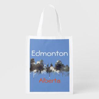 Edmonton Alta. Horizon-CROQUANT Sac D'épicerie