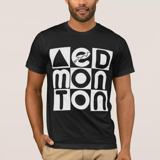 Edmonton Block Puzzle T-Shirt