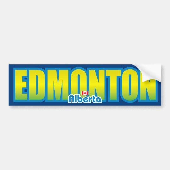 Edmonton bumper bumper sticker
