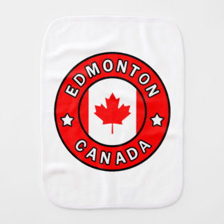 Edmonton Canada Burp Cloth