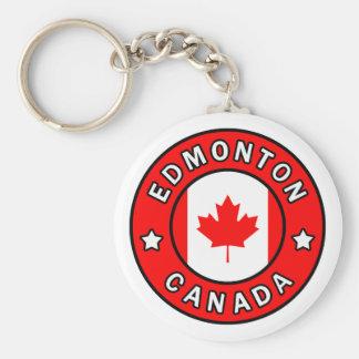 Edmonton Canada Keychain