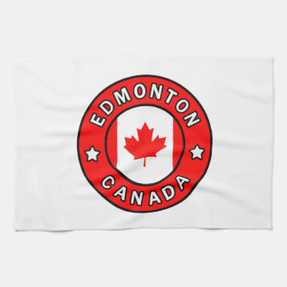 Edmonton Canada Kitchen Towel