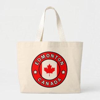 Edmonton Canada Large Tote Bag