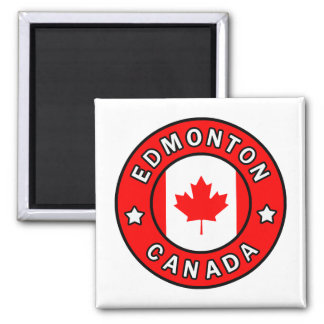 Edmonton Canada Magnet