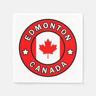 Edmonton Canada Paper Napkins