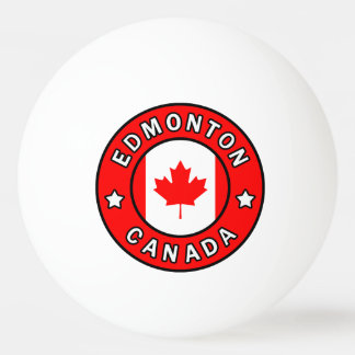 Edmonton Canada Ping Pong Ball