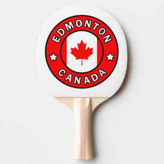Edmonton Canada Ping Pong Paddle