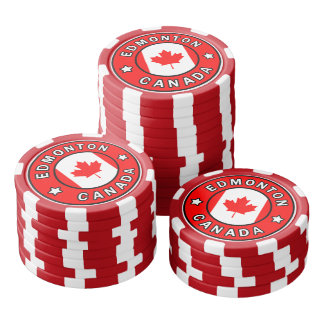 Edmonton Canada Poker Chips