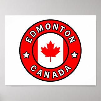 Edmonton Canada Poster