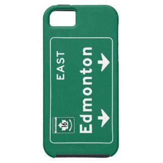 Edmonton, Canada Road Sign iPhone 5 Case