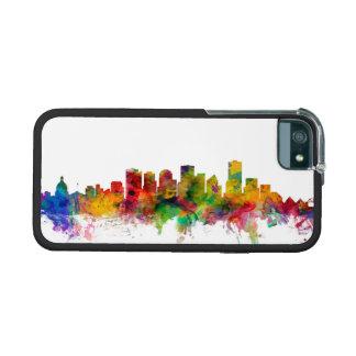 Edmonton Canada Skyline Case For iPhone 5