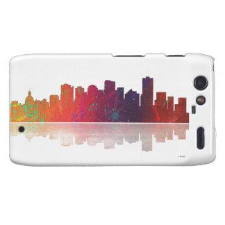 Edmonton Canada Skyline Motorola Droid RAZR Cover