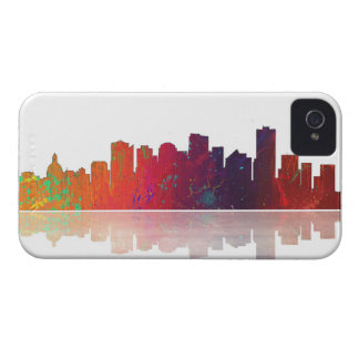 Edmonton Canada Skyline Case-Mate iPhone 4 Cases