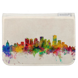 Edmonton Canada Skyline Cityscape Kindle Keyboard Covers