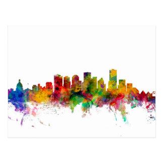 Edmonton Canada Skyline Postcard