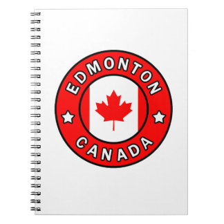Edmonton Canada Spiral Notebook