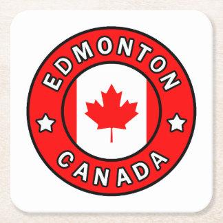 Edmonton Canada Square Paper Coaster