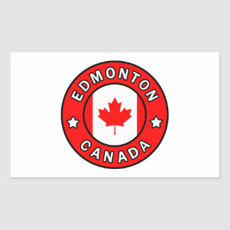 Edmonton Canada Sticker