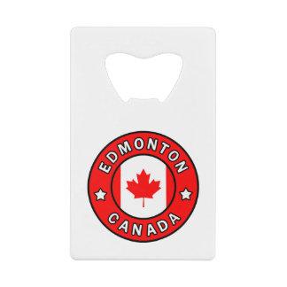Edmonton Canada Wallet Bottle Opener