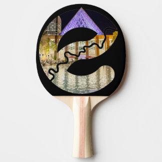 Edmonton City Hall Ping Pong Paddle