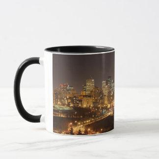 Edmonton city skyline mug