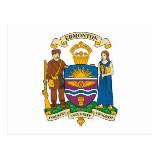 Edmonton Coat of Arms Postcard