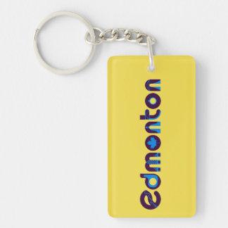 Edmonton Double Sided Keychain