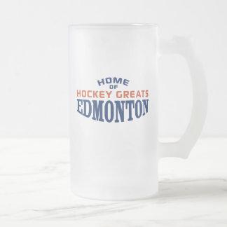 Edmonton Hockey Greats 16 oz Frosted Mug