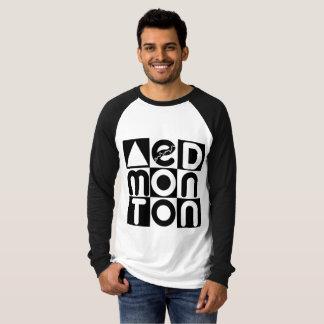 Edmonton Puzzle Raglan Long Sleeve T T-Shirt