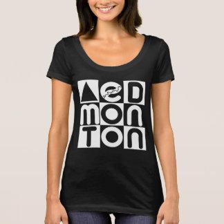 Edmonton Puzzle Scoop Neck T-shirt