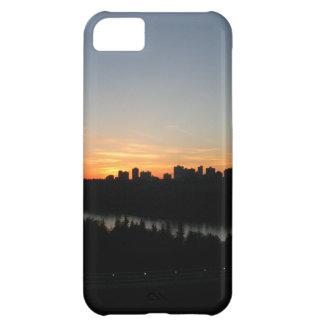Edmonton Skyline after Sunset iPhone 5C Case