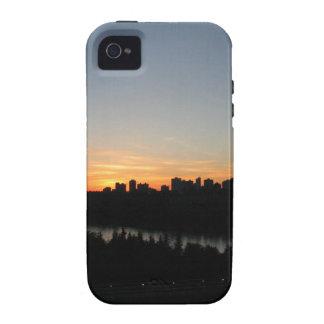 Edmonton Skyline after Sunset iPhone 4/4S Case